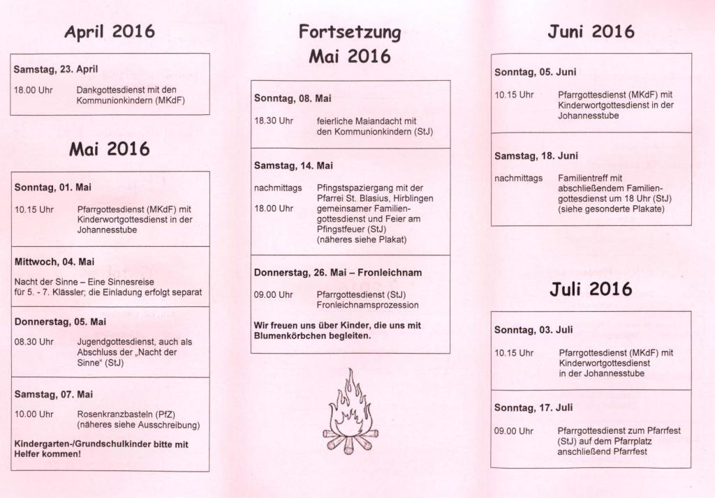 Kinderkalender 2016-2k