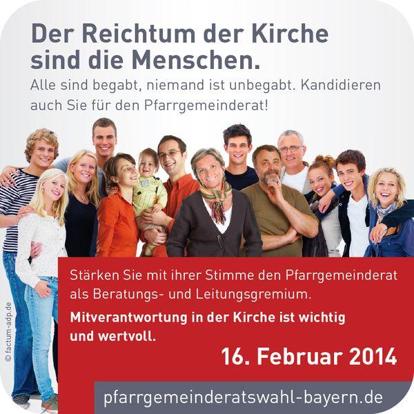 Kandidatinnen und Kandidaten für die Wahl des Pfarrgemeinderates gesucht!