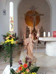 Osterschmuck in St. Jakobus