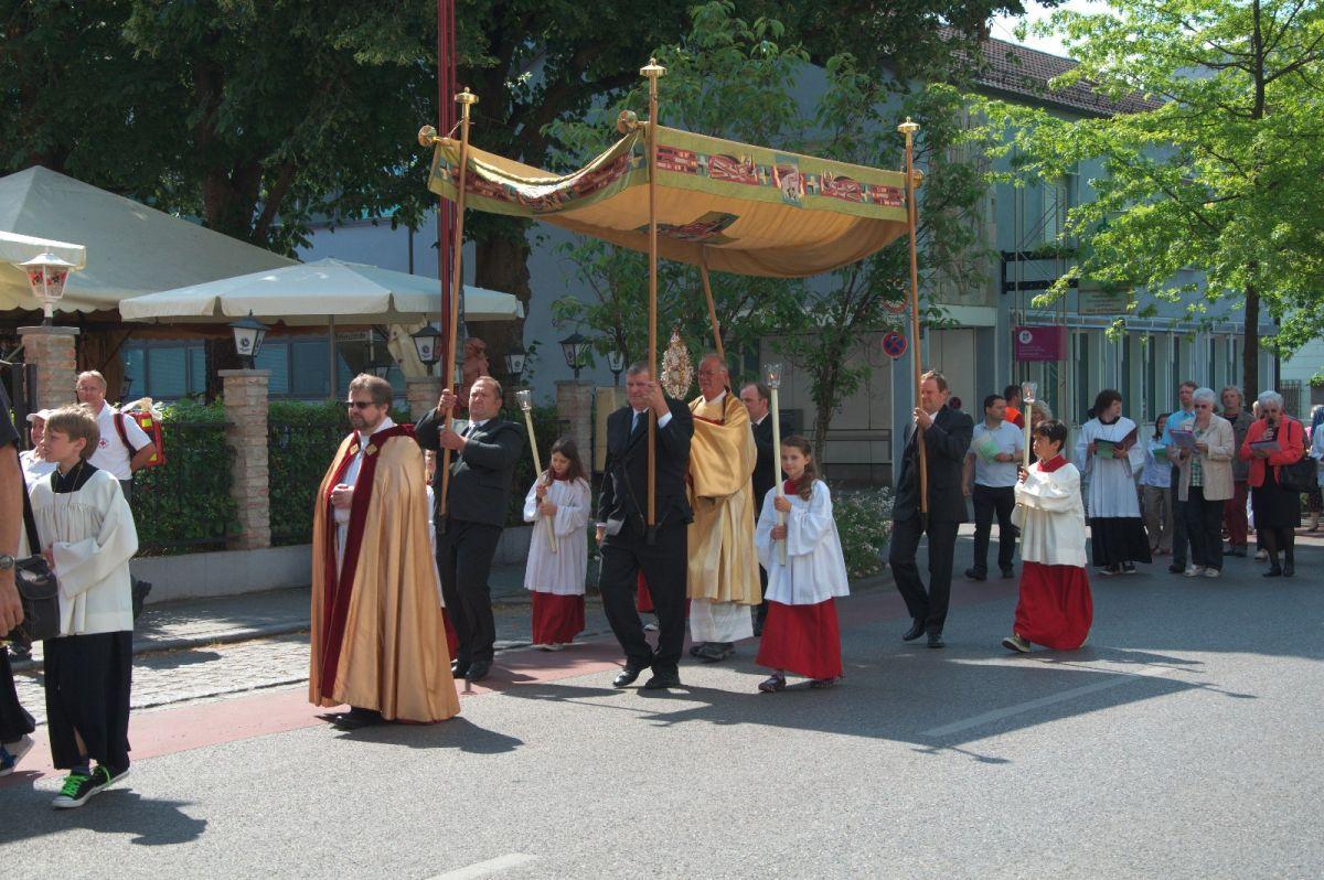 Die Feier des Fronleichnamsfestes