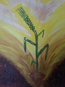 Das Weizenkorn bringt Frucht
