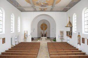 Der Innenraum von St. Jakobus