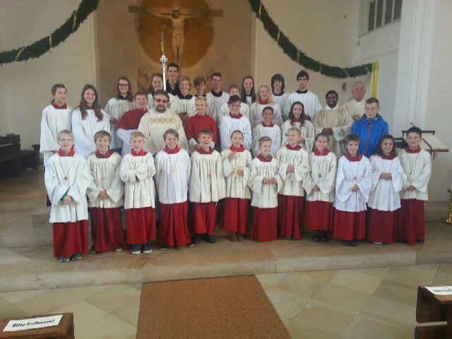 Ministrantenaufnahme in St. Jakobus