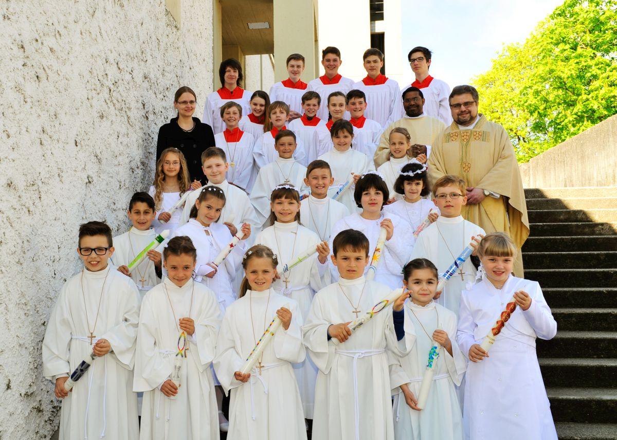 Kinder der Goethe- und Franziskusschule (Foto: Sandra Behrbohm)