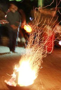 Familiengottesdienst zu Pfingsten mit Pfingstfeuer