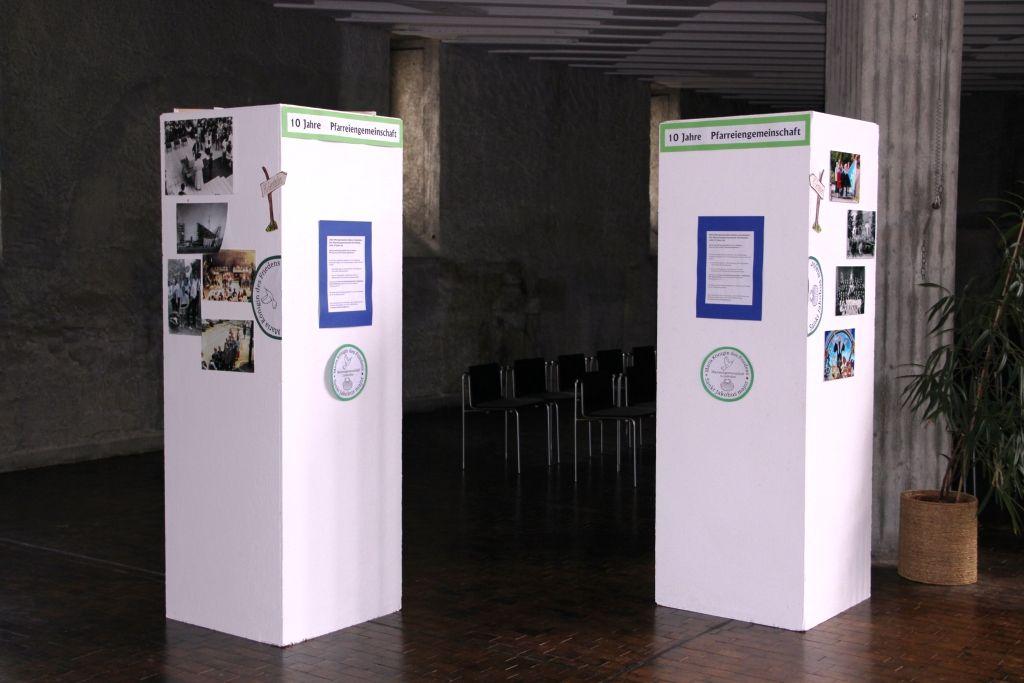 10 Jahre Pfarreiengemeinschaft – Wachsende Ausstellung