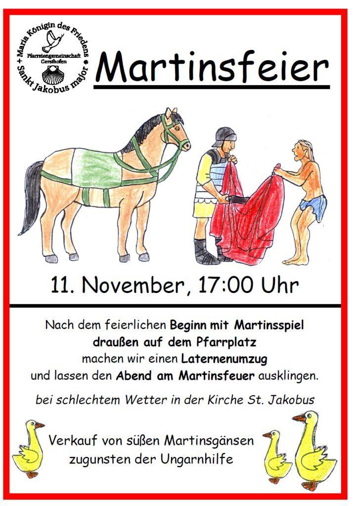 st. martin - plakat 2015 - klein   pfarreiengemeinschaft gersthofen, Einladung