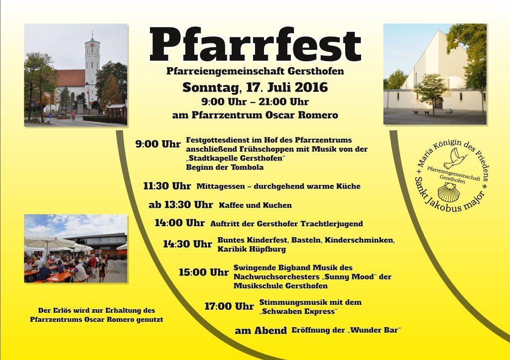 Pfarrfest 2016