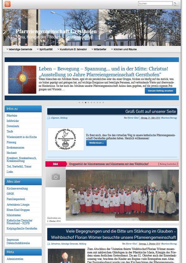 Ein neues Gesicht für unsere Homepage