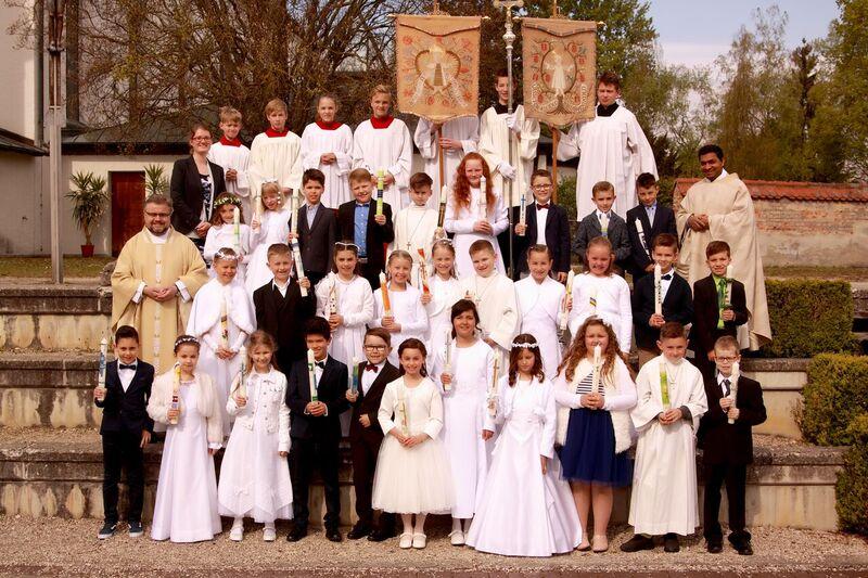 Erstkommunion am 01. Mai 2017 in St. Jakobus