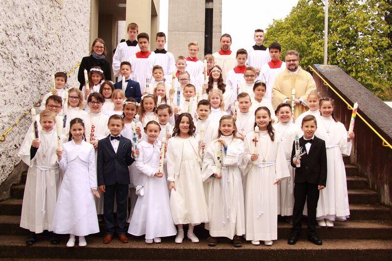 Erstkommunion am 29. April 2017 in Maria, Königin des Friedens