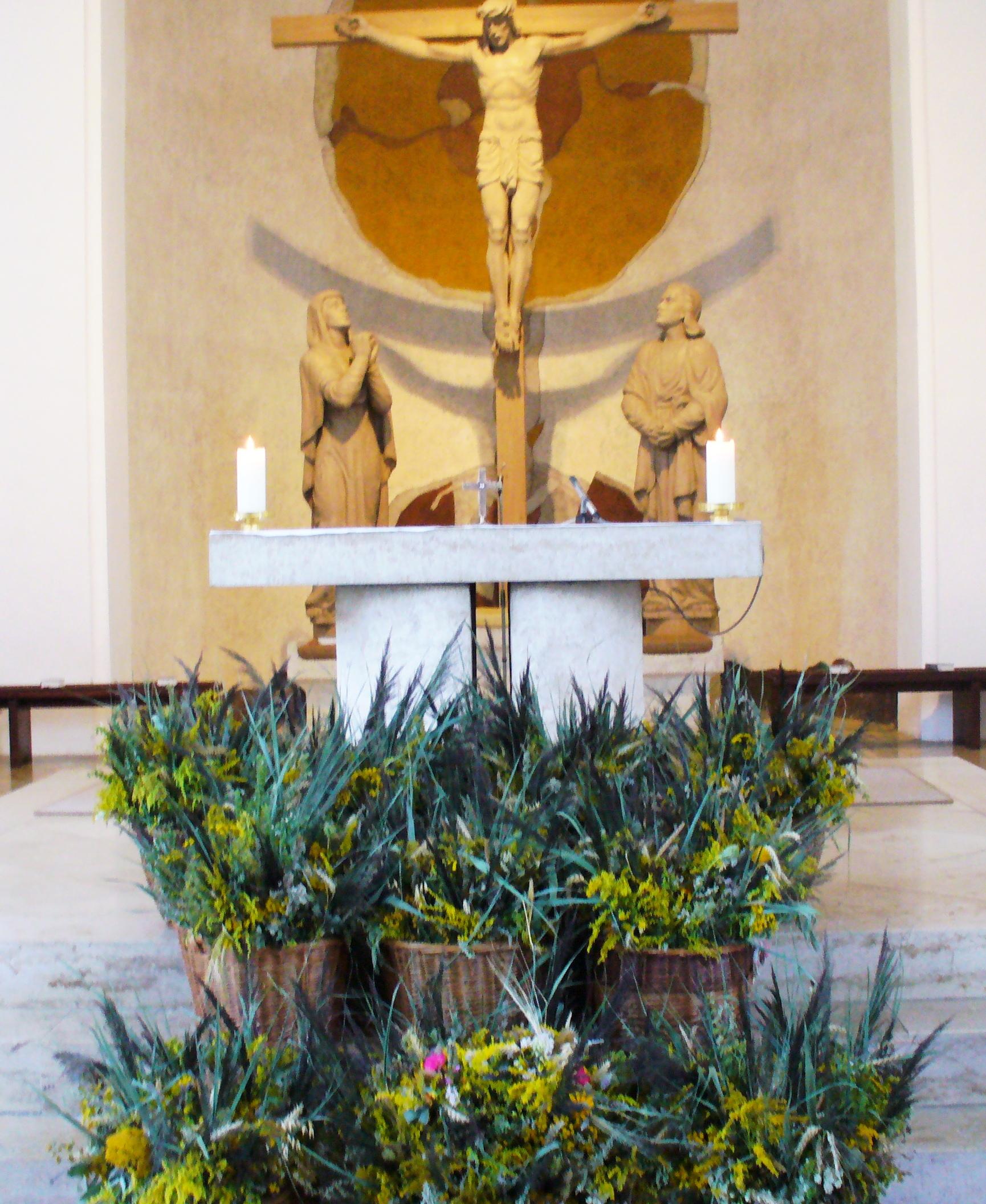 Rückblick auf die Kräuter- und Palmbuschen-Aktionen