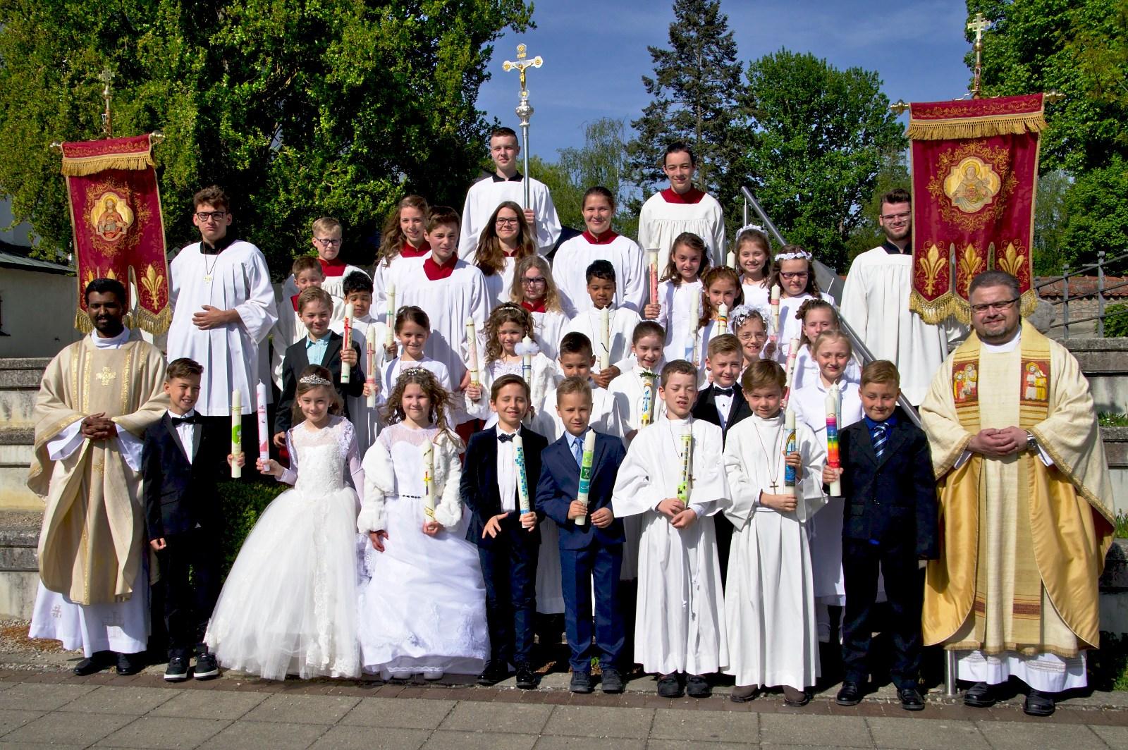 Erstkommunion I in St. Jakobus