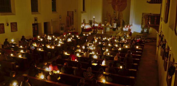 Eindrücke aus den Gottesdiensten an den Österlichen Tagen