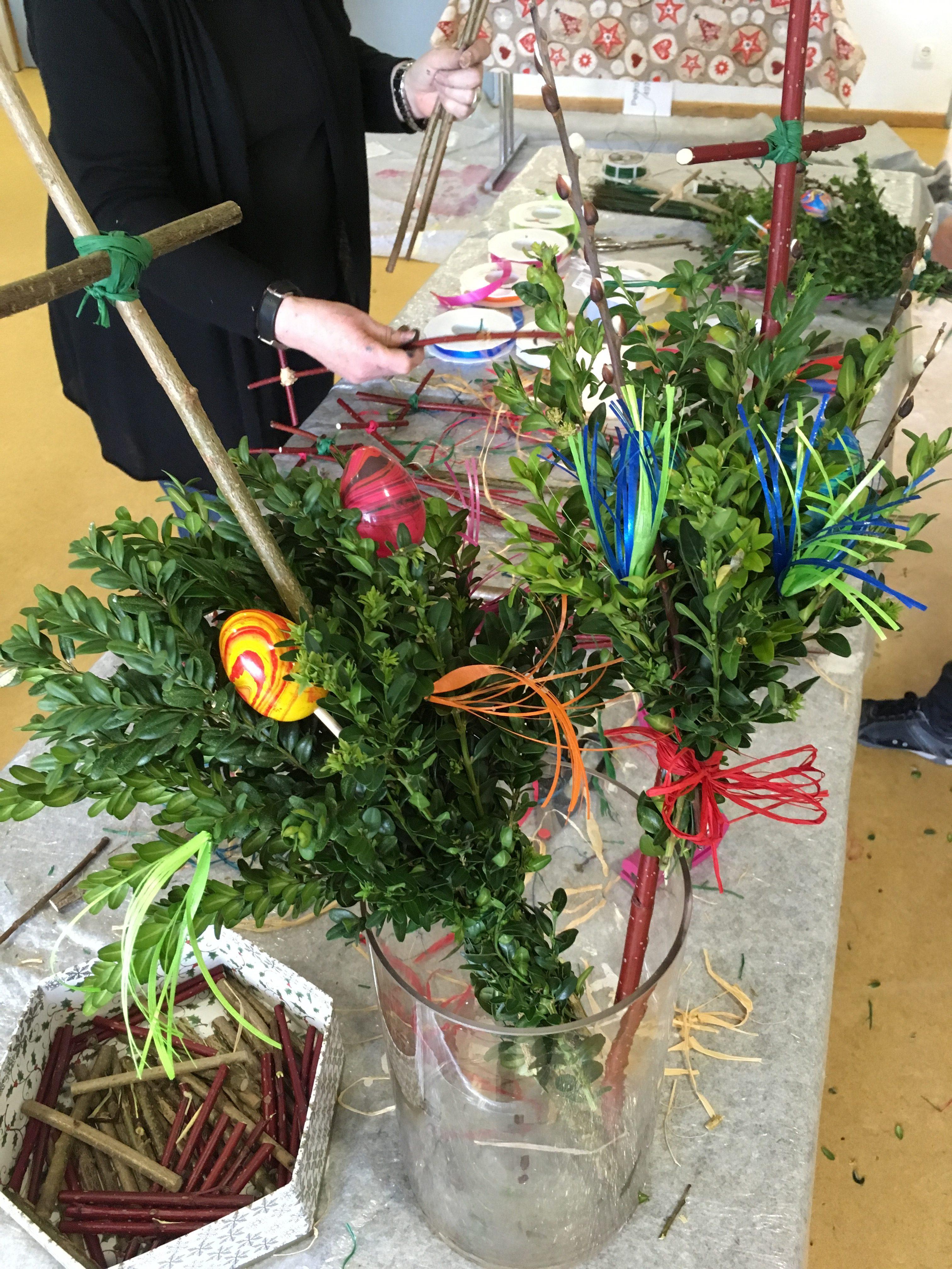 Do It Yourself Palmbuschen für Kinder – zum Abholen vor Palmsonntag
