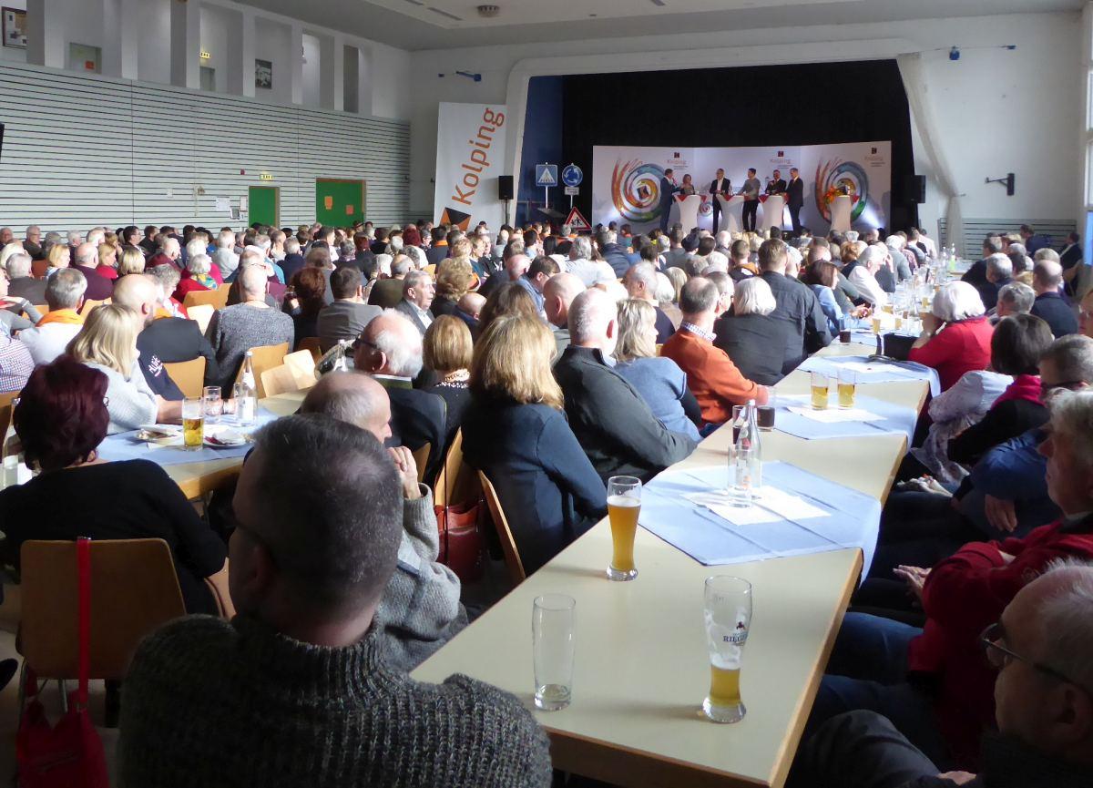 """Kolpingsfamilie Gersthofen veranstaltet """"Politische Podiumsdiskussion"""""""