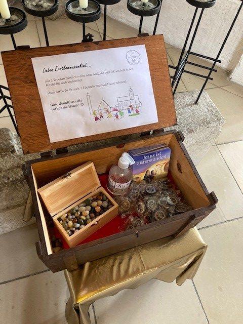 Erstkommunion-Mandala: 5. Aufgabe – zur Vorbereitung auf die Erstbeichte